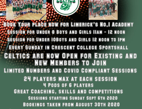 Celtics Academy 2020-21 for Boys and Girls