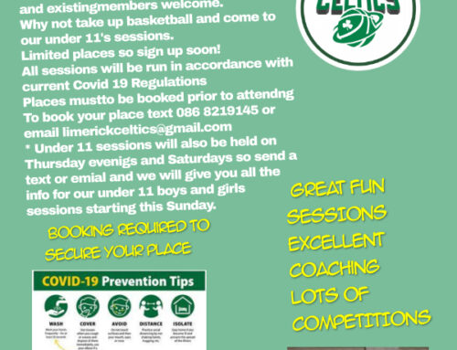 Limerick Celtics U11 Boys and Girls Academy