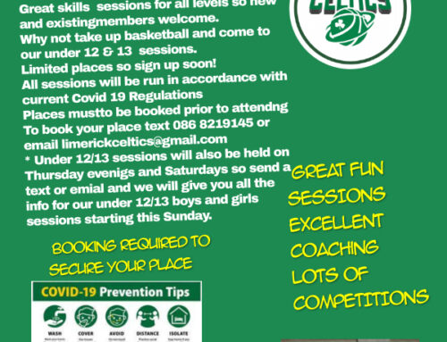 Limerick Celtics U12 & U13 Boys/Girls Academy