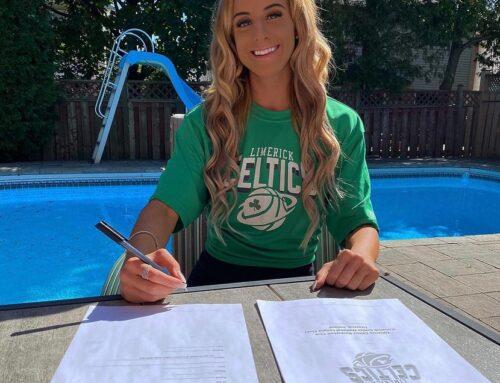 Emily Tinnes Signs for Limerick Celtics
