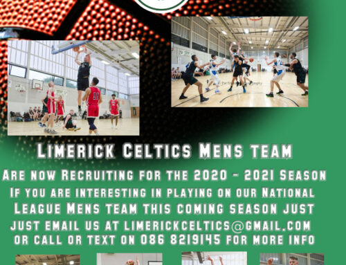 Recruiting for our Mens National League Team 2020-21