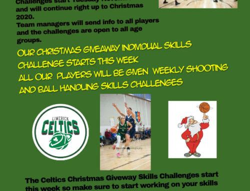 Celtics Christmass Giveway 2020