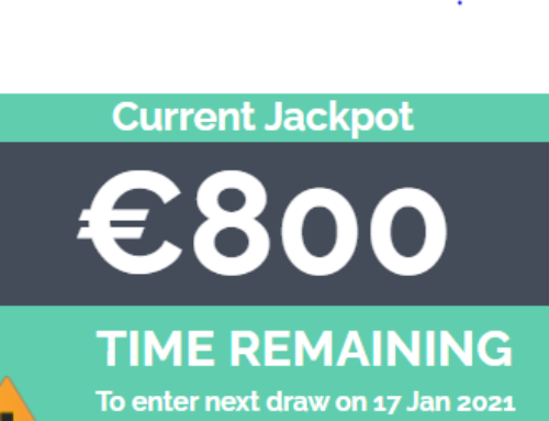 Limerick Celtics Lotto Draw has a jackpot of €800 this week