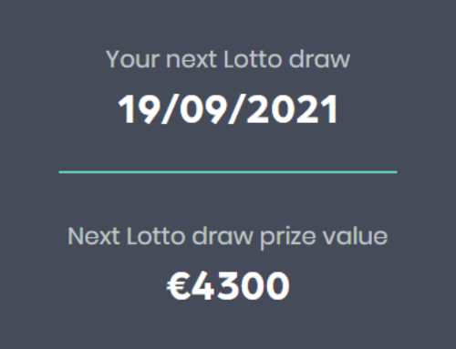 Our Limerick Celtics Lotto Jackpot Prize is a massive €4,300